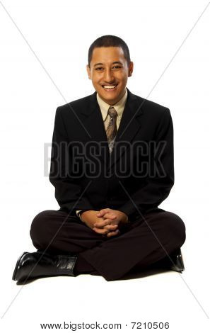 Business Man Meditation