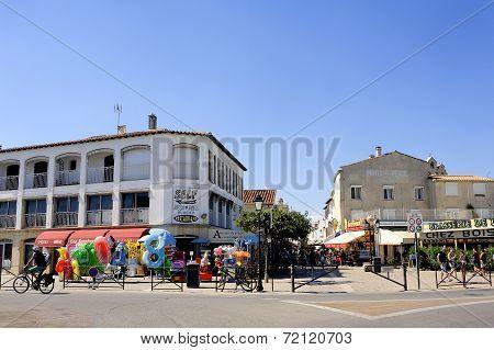 Town Center Of Saintes-maries-de-la-mer