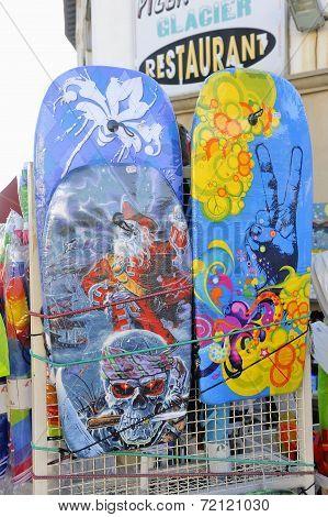 Beachwear Shop In The Town Of Saintes-maries-de-la-mer