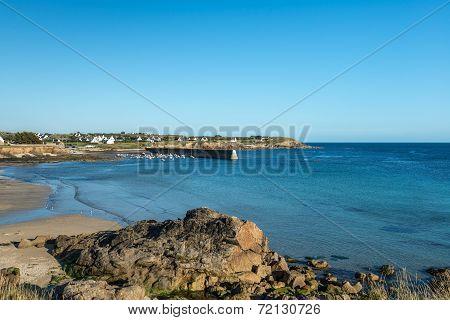 Harbor In Le Loc'h Bay (france)