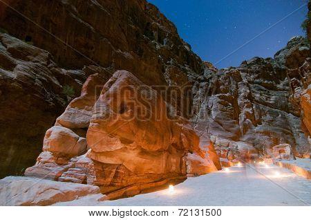 Elephant Shaped Rock - Petra, Jordan