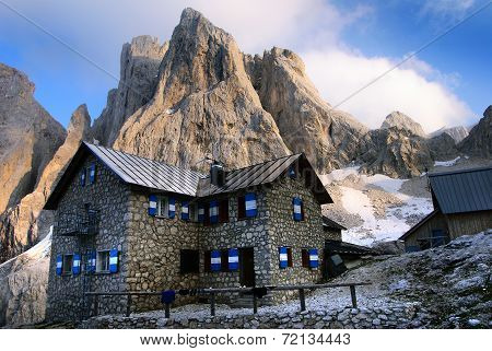 chalet in Pale Di San Martino - Dolomiti Italy