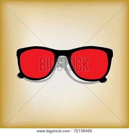 Vintage style shades background