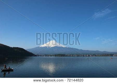 Mt.fuji At Lake Kawaguchi