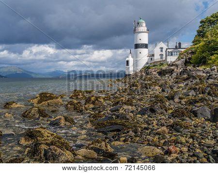 Lighthouse On West Coast Of Scotland