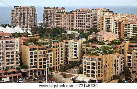 Monaco - Architecture Fontvieille District