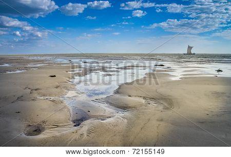 Coastline in Morondava