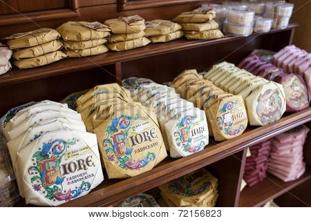 Panforte In A Siena Grocery