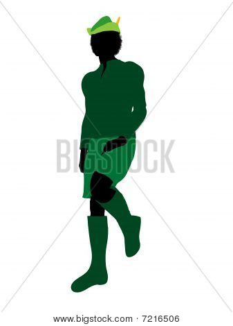 Peter Pan Silhouette Illustration