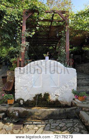 Drinking Fountain Old Platamonas Platamon Greece
