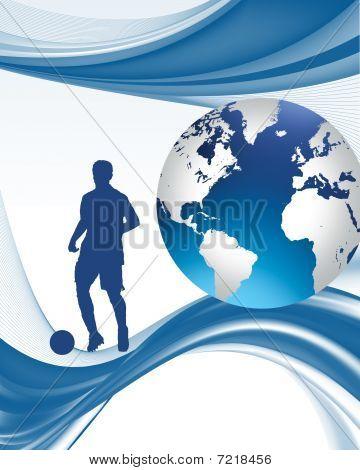 woeld football vector