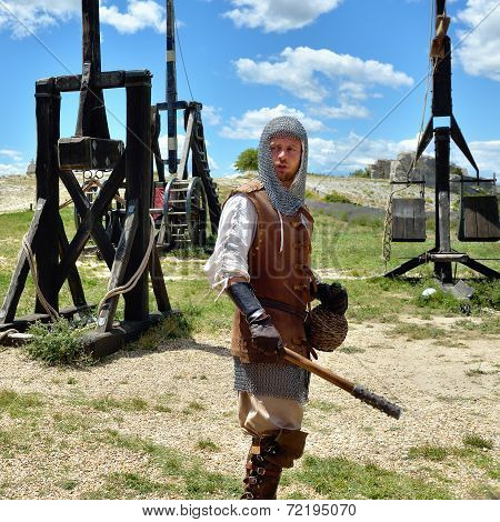 Les Baux, Medieval Warrior
