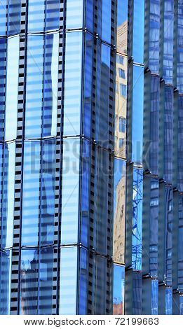 World Trade Center Abstract Glass Building Skyscraper Reflection New York City Ny