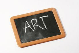 Art On Blackboard
