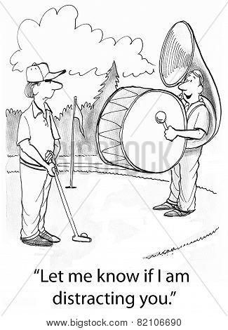 Golf Distraction