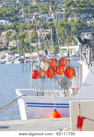 Fishing Boat In Port D'andratx