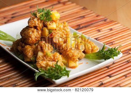 Thai Fried Calamari