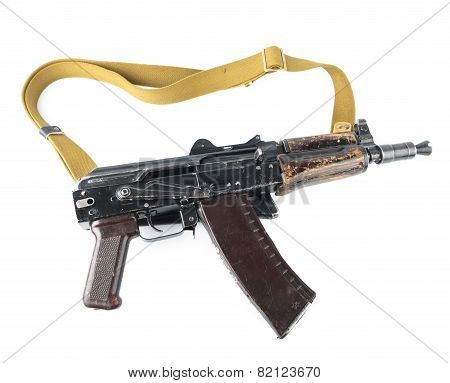 Kalashnikov Rifle. Third Safety Lever Position.