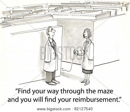 Health Maze to get Reimbursement