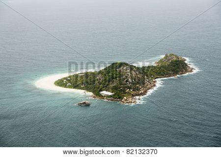 Cousine Island Aerial, Seychelles