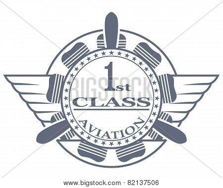 Stamp, first class