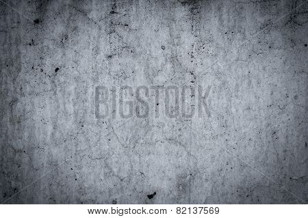 Concrete Wall And Floor As Background