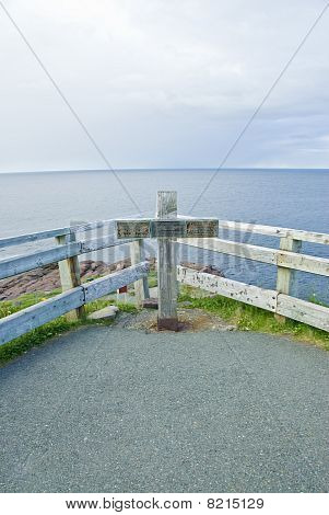 Cross at Cape Spear