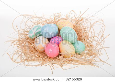 Pile Of Easter Eggs
