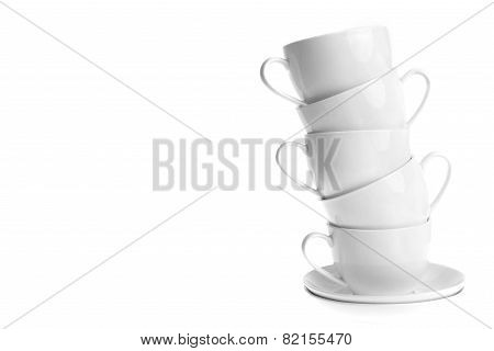 Coffee Cups With Saucers
