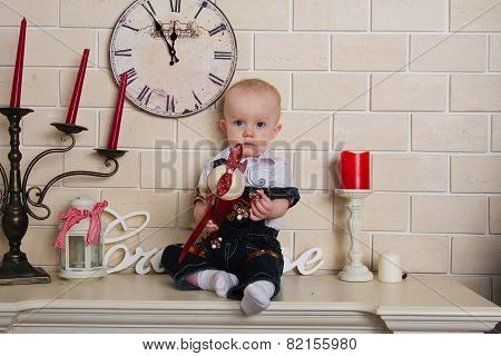 Baby On The Mantelpiece