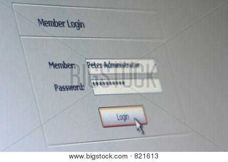 member login 01