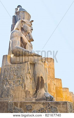 The Egyptian Statue