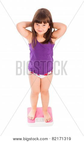 Child Worried About Her Weight