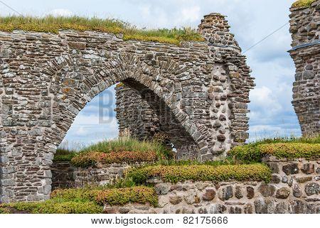 Stone portal