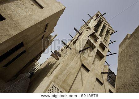 A Windtower In Dubai