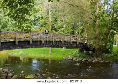 River Foot Bridge