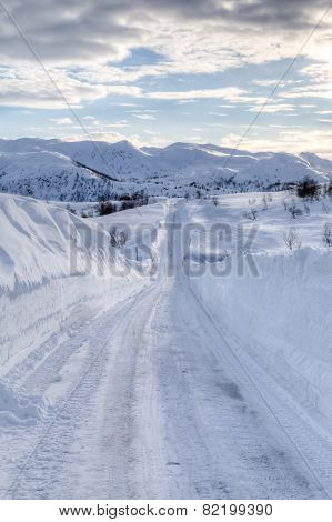 Snowy Road 2