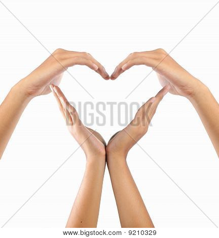 Love Symbol Made By Image Photo Free Trial Bigstock