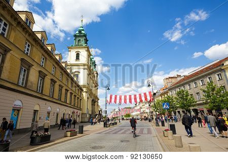 Holy Cross Church At Krakowskie Przedmiescie