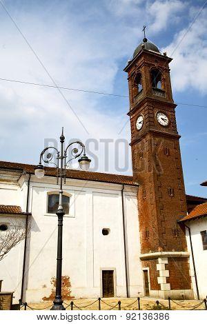 In  The Santo Antonino  Old   Church  Closed Street Lamp