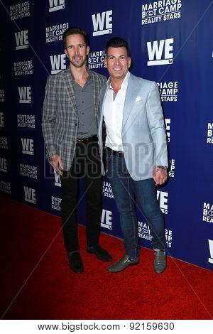 LOS ANGELES - MAY 28:  Joey Toth, David Tutera at the WE tv's