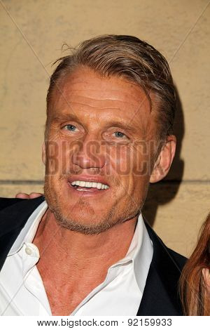 LOS ANGELES - MAY 6:  Dolph Lundgren at the