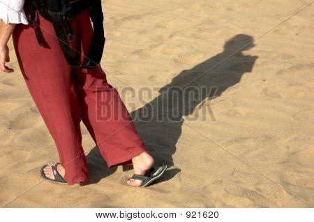 Hiking In The Desert