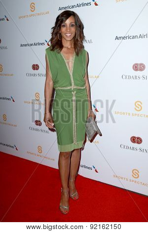 LOS ANGELES - MAY 31:  Shaun Robinson at the 2015 Sports Spectacular Gala at the Century Plaza Hotel on May 31, 2015 in Century City, CA