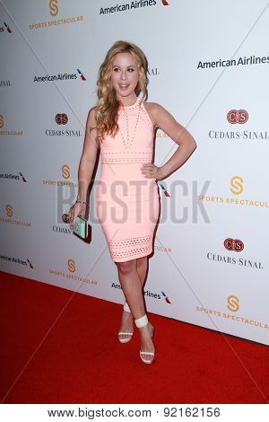 LOS ANGELES - MAY 31:  Tara Lipinski at the 2015 Sports Spectacular Gala at the Century Plaza Hotel on May 31, 2015 in Century City, CA