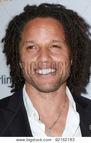 LOS ANGELES - MAY 31:  Cobi Jones at the 2015 Sports Spectacular Gala at the Century Plaza Hotel on May 31, 2015 in Century City, CA