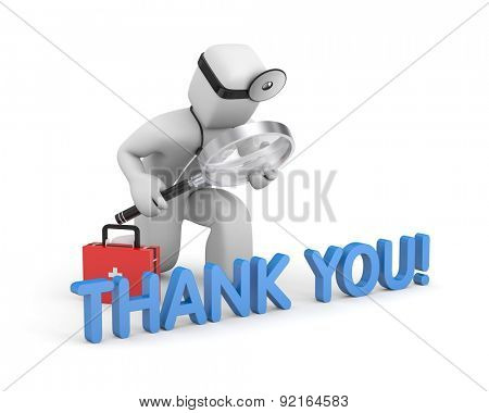 Thanks for healthcare providers