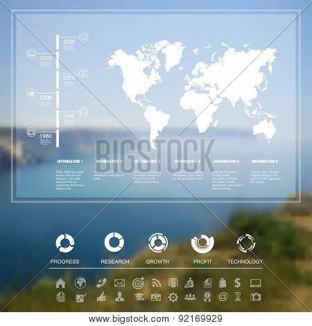 Landscape infographic
