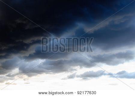 Dark Clouds Before Thunderstorm