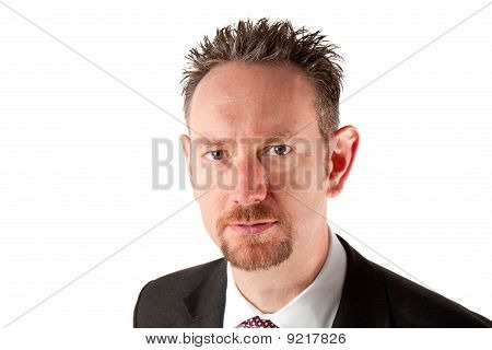 Portrait Of Businessman With Goatee Beard